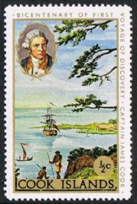Cook Islands SG269 1988 Captain Cook ½c mounted mint